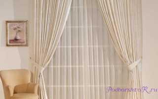 Как выбрать красивый и практичный тюль для зала?