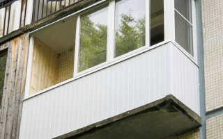 Устройство балкона в панельном доме
