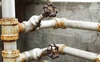 Замена старых стальных труб