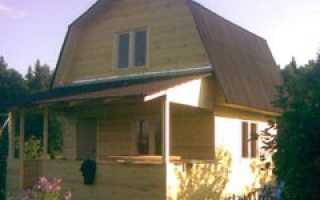 Установка подстропительной и стропильной системы мансардной крыши