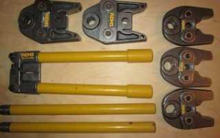 Опрессовка металлопластиковых труб основные моменты