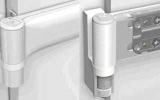 Как снять металлопластиковую дверь с петель