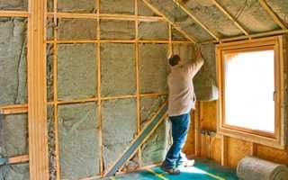 Как утеплить кирпичный дом изнутри своими руками