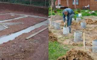 Особенности возведения фундамента на глинистой почве