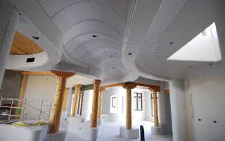 Особенности выполнения проектов для разноуровневых потолочных покрытий из гипсокартона