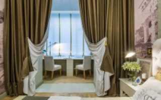 Как сшить двухсторонние шторы своими руками