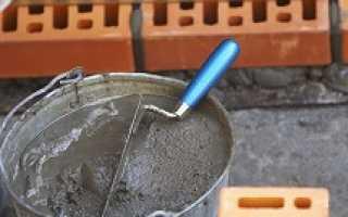 Пропорции и приготовление раствора для кладки кирпича