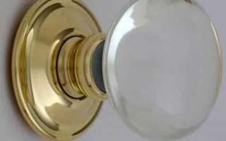 Как прикрутить ручку к межкомнатной двери