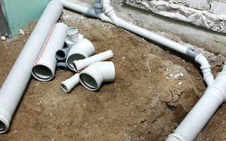 Как самостоятельно проложить канализационные трубы?