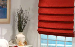 Декоративные жалюзи своими руками из ткани