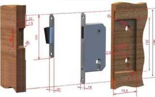Как установить магнитный замок на межкомнатную дверь