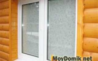 Как поставить окно ПВХ в деревянном доме