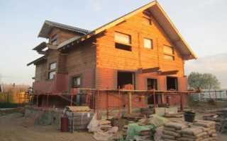 Как самостоятельно обложить дом из бруса кирпичом?