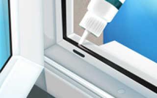 Чем смазать уплотнители пластиковых окон