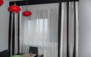 Виды декоративных гардин для штор