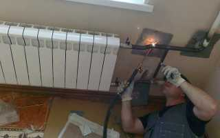 Монтажные и сварные работы стальных труб