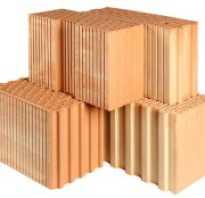 Размеры современных строительных блоков