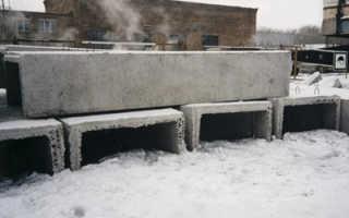 Характеристика марок бетона по степени водонепроницаемости