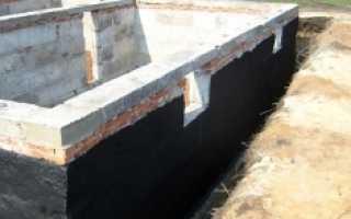 Материалы для гидроизоляции стены в грунте