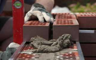 Как посчитать расход цемента на кладку кирпича