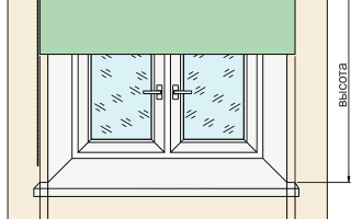 Ролевые шторы на пластиковые окна