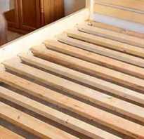 Как делается деревянная кровать своими руками