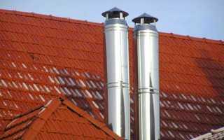 Типы дымоотводов для газовой колонки