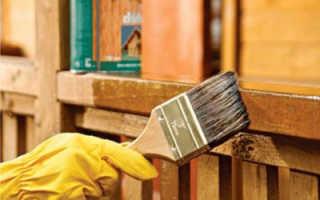 Как осуществляется защита от гниения древесины