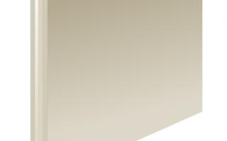 Размеры и характеристики пазогребневых блоков