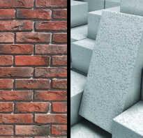 Какой материал выбрать кирпич или газосиликат?