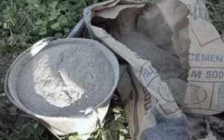 Расход бетона и других материалов на 1 куб бетона