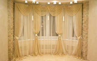 Идеи оформления окон шторами