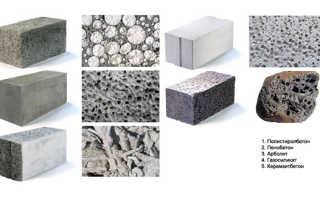Размеры и вес газобетонных блоков