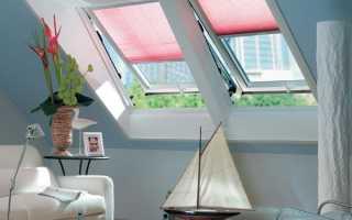 Окна в мансардной крыше варианты