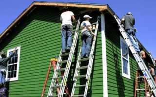 Как правильно осуществить покраску деревянного дома снаружи