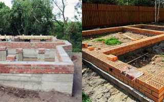 Как своими руками возвести фундамент для кирпичного дома?