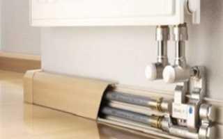 Как самостоятельно декорировать трубы отопления