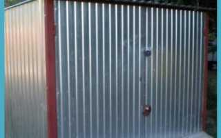 Как правильно утеплить металлический гараж?