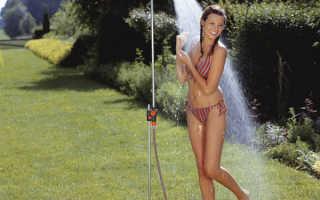Как самостоятельно сделать душ для дачи?
