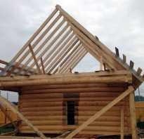 Делаем стропила для двухскатной крыши