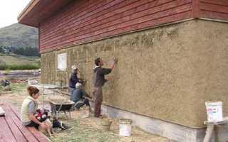Утепление стен камышом для термоизоляции помещения