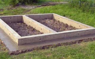 Как заложить фундамент для бани 3х4?