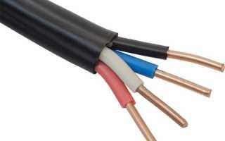 Сечение провода по нагреву и потерям напряжения