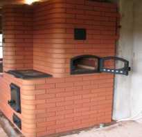 Как выложить отопительно варочную печь из кирпича