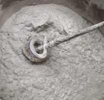 Расчет кубатуры бетона