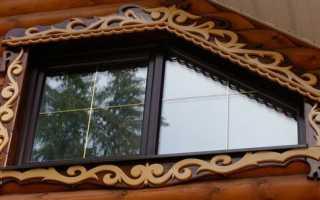 Красивые наличники на окна своими руками