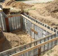 Строительные материалы для фундамента