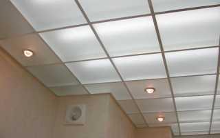 Акриловые подвесные потолки – особенности плюсы и минусы