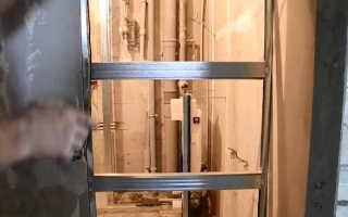 Как заделать проем над дверью