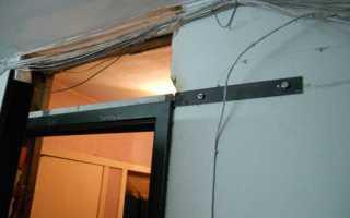 Как заделать проем над дверью гипсокартоном